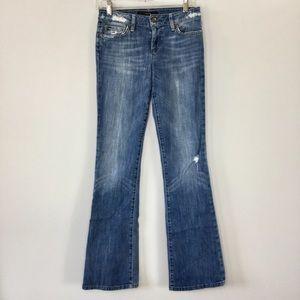 Joe's Jeans Honey Fit distressed bootcut jeans